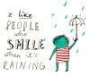 i like pepople who smile