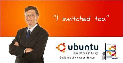 Билл Гейтс переходит на Linux