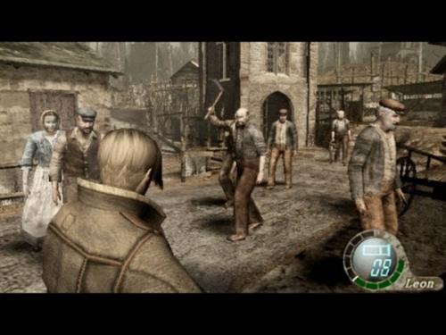 Resident Evil 4 деревня