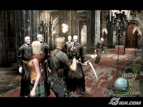 Resident Evil 4 монахи